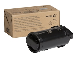 Xerox Black Extra High Capacity Toner Cartridge for VersaLink C600 Series, 106R03919, 34354579, Toner and Imaging Components - OEM