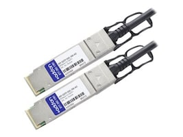ACP-EP Memory JNP-QSFP-DAC-3M-AO Main Image from Left-angle