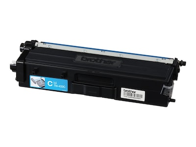 Brother Cyan High Yield Toner Cartridge for HL-L8260CDW, HL-L8360CDW, HL-L8360CDWT, MFC-L8610CDW, TN433C, 33802106, Toner and Imaging Components
