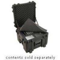 Samsonite Roto Mil-Std Waterproof Case 14 Deep, Cubed Foam, Wheels, Black, 19x19x14.5, 3R1919-14B-CW, 9352168, Carrying Cases - Other