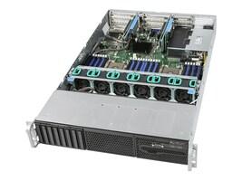 Intel Barebones, R2208WFTZSR 2U RM (2x)CPU slots 24xDIMMs 8x2.5 HS bays 1x1100W, R2208WFTZSR, 36886798, Servers