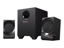 Creative Labs SBX Kratos S3 U-X Speaker System - Black, 51MF0475AA001, 34193074, Speakers - PC