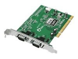 Siig CyberSerial Dual Port PCI 16550 Controller, JJ-P02012-S7, 14050210, Controller Cards & I/O Boards