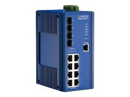 IMC Networks SEG512-4SFP-T Main Image from Left-angle
