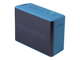 Creative Labs Muvo 2c Speakers - Blue, 51MF8250AA002, 34775189, Speakers - Audio