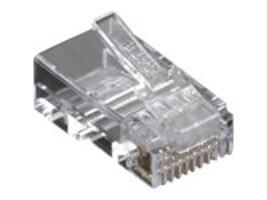 Black Box Cat6 Modular Plug, Unshielded, 50-Pack, C6-MP-U-50PAK, 12496787, Cables