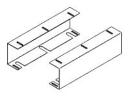 APG Mount Kit for Vasario Cash Drawers, Undercounter, 16 (VPK-27B-16-BK), VPK-27B-16-BX, 5373771, Cash Drawers