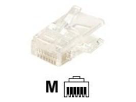 Steren Modular Fat Stranded 4C 6x4 Plug RJ11, 300-064, 35257421, Premise Wiring Equipment
