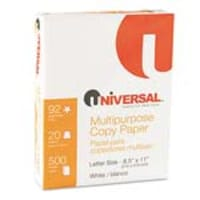 Innovera 8.5 x 11 Multipurpose Copy Paper (5000 Sheets), UNV21200, 9426631, Paper, Labels & Other Print Media