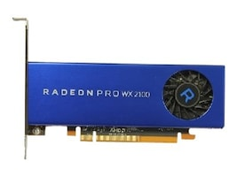 Dell Radeon Pro WX 2100 PCIe 3.0 x16 Graphics Card, 2GB GDDR5, 490-BDZR, 35856335, Graphics/Video Accelerators