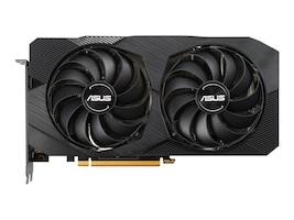 Asus Radeon RX 5500 XT Dual Fan PCIe 4.0 Graphics Card, 8GB GDDR6, DUAL-RX5500XT-O8GEVO, 37878870, Graphics/Video Accelerators