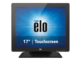 ELO Touch Solutions 17 1723L LCD IntelliTouch Pro PCAP Monitor, Black, E683457, 29830307, Monitors - Touchscreen