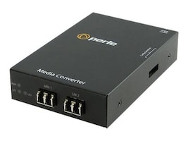 Perle S-1000MM-S2LC40 Media Converter 1000B-SX-1000B-EX 2LC 1310NM 40KM, 05060264, 12733383, Network Transceivers