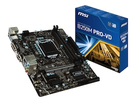 Microstar Motherboard, B250M Pro VD, B250M PRO-VD, 33561437, Motherboards