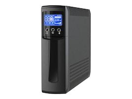 V7 1500VA UPS 120V LCD Tower (5) UPS (5) Surge USB RJ-45, UPS1TW1500-1N, 33751476, Battery Backup/UPS