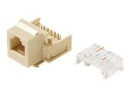 Steren Modular Keystone Jack 6C 6x6 RJ12, White, 310-106WH, 35257551, Premise Wiring Equipment