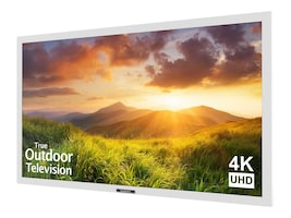 55 Signature Series 4K UHD Outdoor LED TV, White, SB-S-55-4K-WH, 35101477, Televisions - Consumer