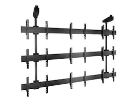Chief Manufacturing FUSION Micro-Adjustable Large Ceiling Mounted 3 x 3 Video Wall Solutions, LCM3X3U, 16516212, Monitor & Display Accessories - Video Wall