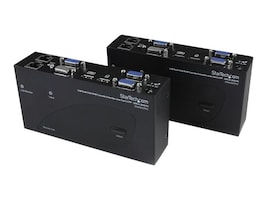 StarTech.com USB Dual VGA over Cat5 KVM Console Extender, 650ft 200m, SV565DUTPU, 14820317, Video Extenders & Splitters