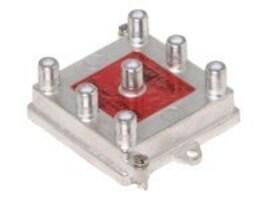 Steren 6-Way 1GHz 130dB Vertical Splitter, 201-276, 32417628, Adapters & Port Converters