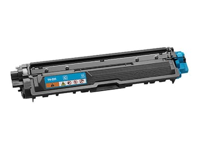 Brother Cyan High Yield Toner Cartridge for HL-3140CW & HL-3170CDW Printers, TN225C, 15481775, Toner and Imaging Components - OEM
