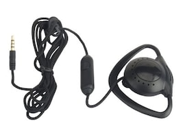 Zcover 3.5mm Push-To-Talk Ear-Mic for Any Apple Products - Black, ZUPT3QCK, 16603156, Phone Accessories