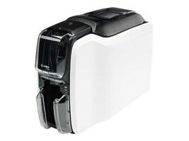Zebra ZC100 USB Single Sided Card Printer w  US Cord & NTB Only Windows Driver, ZC11-0000000US00, 35899335, Printers - Card