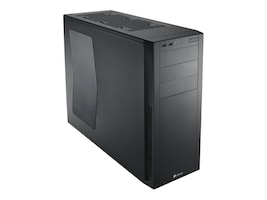 Corsair Chassis, Carbide Series 200R Windowed Compact ATX 4x3.5 Bays Black, CC-9011041-WW, 17828162, Cases - Systems/Servers