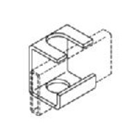Chatsworth Slotted Support Bracket for 5 8 or M16 Rod and 1-1 2 Stringers, 10607-002, 12172045, Rack Cable Management