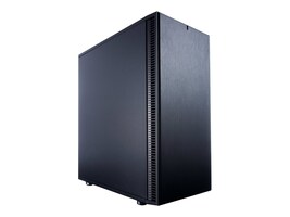 Fractal Design Chassis, Define C ATX 2x3.5 Bays 3x2.5 Bays 7xSlots, Black, FD-CA-DEF-C-BK, 33106004, Cases - Systems/Servers