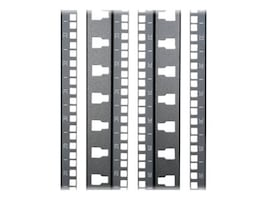 Panduit 48U N-Type Front & Rear Cage Nut Equipment Rail Kit, N8RCFR, 35199531, Rack Mount Accessories