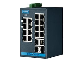 Quatech Advantech EKI-5626CI-EI-AE DIN RM WM Managed Switch 16xFaE 2xGbE SFP, EKI-5626CI-EI-AE, 35165631, Network Switches