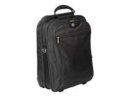 HP Evolution 17 Vertical Roller Notebook Case, Black, RC441AA, 7681347, Carrying Cases - Notebook