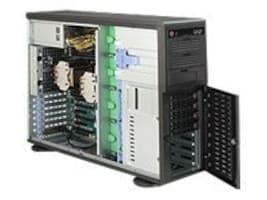 Supermicro Barebone, 4U C602 DP 16xDIMM 6x3.5 SATA 1200W SQ, SYS-7047A-T, 13768385, Barebones Systems