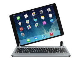 Brydge Bluetooth Keyboard for iPad Air (2019) and 10.5 iPad Pro, Space Gray, BRY8002-B, 37136841, Keyboards & Keypads
