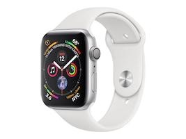 Apple Watch Series 4 GPS, 40mm Silver Aluminum Case, White Sport Band, MU642LL/A, 36142203, Wearable Technology - Apple