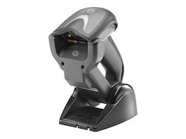HP Wireless Barcode Scanner, Base, USB Cable, Black, E6P34AA, 20214954, Bar Code Scanners