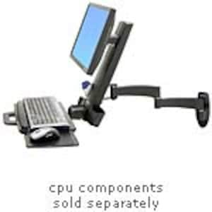 Open Box Ergotron 200 Series Combo Arm Mount, White, 45-230-216, 35163660, Stands & Mounts - AV
