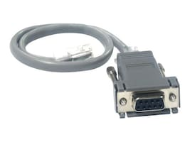B&B Electronics Serial Cable, Mini-Jack to DB9 (F), 825-39951, 14440058, Cables