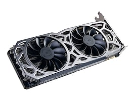 eVGA GeForce GTX 1080 Ti iCX Gaming Graphics Card, 11GB GDDR5X, 9-Thermal Sensors, RGB LED G P M, 11G-P4-6591-KR, 34524726, Graphics/Video Accelerators