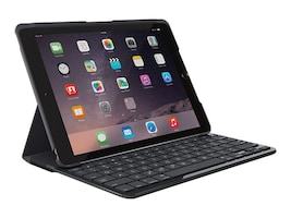 Logitech Slim Folio Bluetooth Keyboard Case for iPad 5th 6th Gen, Black, 920-009017, 35871914, Keyboard/Mouse Combinations