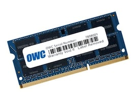Other World 8GB PC3-12800 204-pin DDR3L SDRAM SODIMM, OWC1600DDR3S8GB, 35019511, Memory