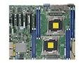 Supermicro Motherboard, ATX C612 (2x)LGA 2011 E5-2600 v3 Family Max.512GB DDR3 10xSATA 6xPCIe 2xGbE, MBD-X10DRL-I-O, 17785086, Motherboards