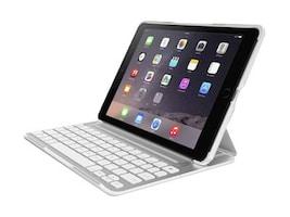 Belkin QODE Ultimate Pro Keyboard Case for iPad Air 2, White, F5L176TTWHT, 18816438, Keyboards & Keypads