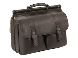SOLO 16 Leather Classic Portfolio, D535-3U2, 35672464, Carrying Cases - Notebook