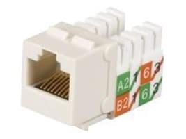 Black Box GigaTrue2 CAT6 Jacks, Universal Wiring, Component Level, Off White, 25-Pack, FMT635-R3-25PAK, 32994791, Cable Accessories