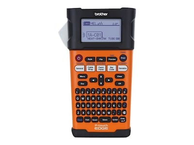 Brother PT-E300 Industrial Handheld Labeling Tool, PTE300, 16249302, Printers - Label