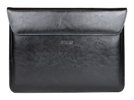Cyber Acoustics Maroo Surface Book Leather Sleeve, Magnetic Fold, Marbled Black, MR-MS2001, 32229555, Carrying Cases - Tablets & eReaders