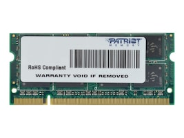 Patriot Memory 2GB 800MHz DDR2, PSD22G8002S, 41047521, Memory
