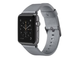 Belkin Classic Leather Band for Apple Watch, 42mm, Gray, F8W732BTC02, 33418809, Wearable Technology